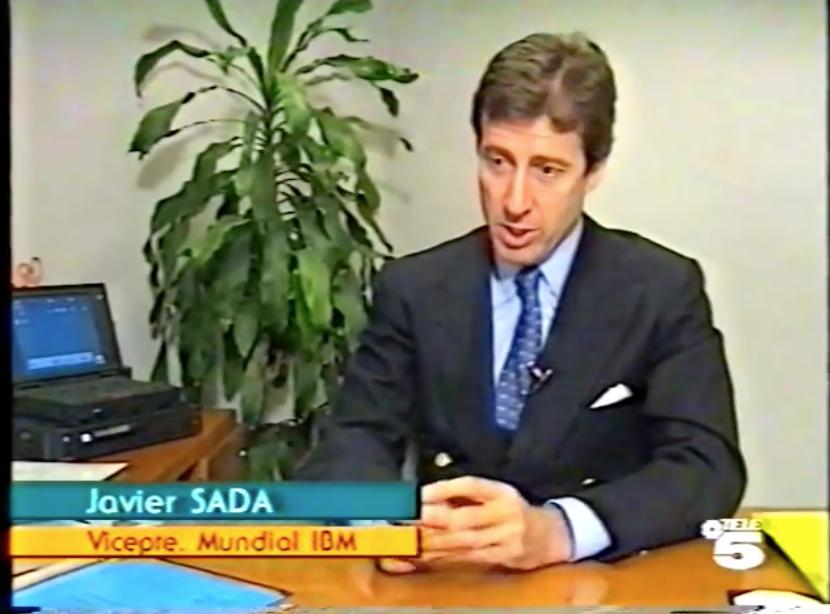 Javier Sada, nombrado vicepresidente Mundial de IBM (Telediario)