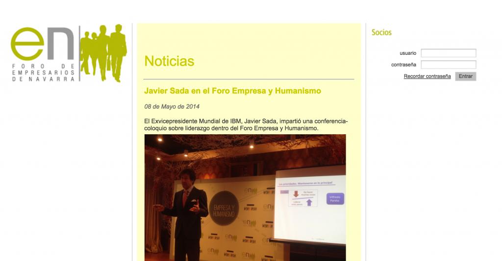 Foro de Empresarios de Navarra